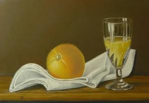Orange juice - 39 cm x 27 cm - PEV