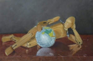 Daydream - 48 cm x 32 cm - PEV