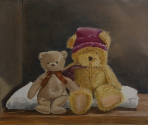 Best friends - 36 x 30 cm -  PEV